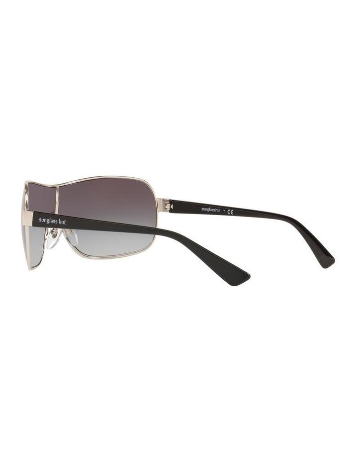 Grey Shield Sunglasses 0HU1008 1532233003 image 5
