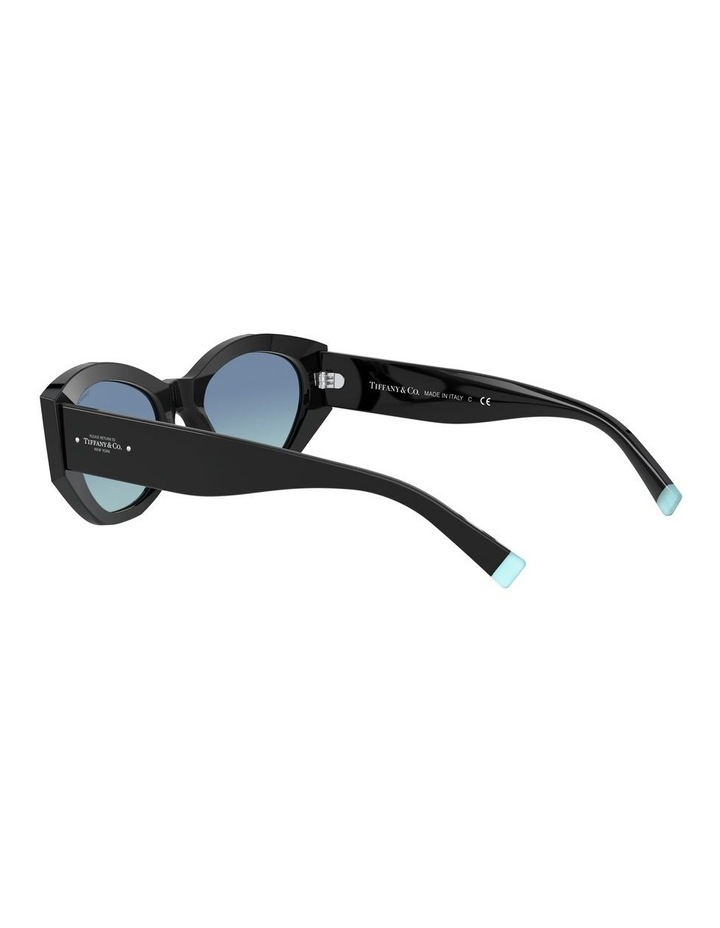 Black Oval Sunglasses 0TF4172 1531172006 image 5