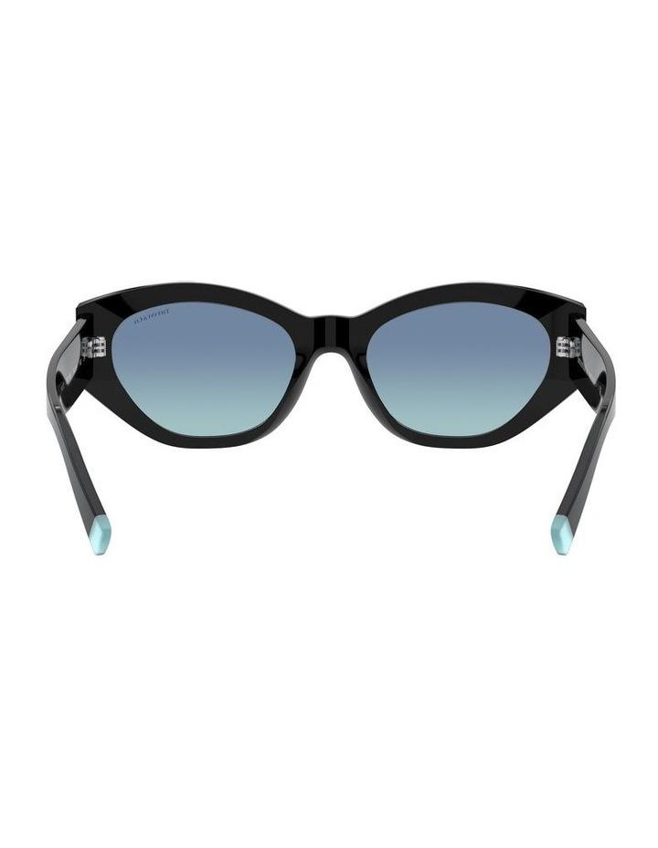 Black Oval Sunglasses 0TF4172 1531172006 image 7