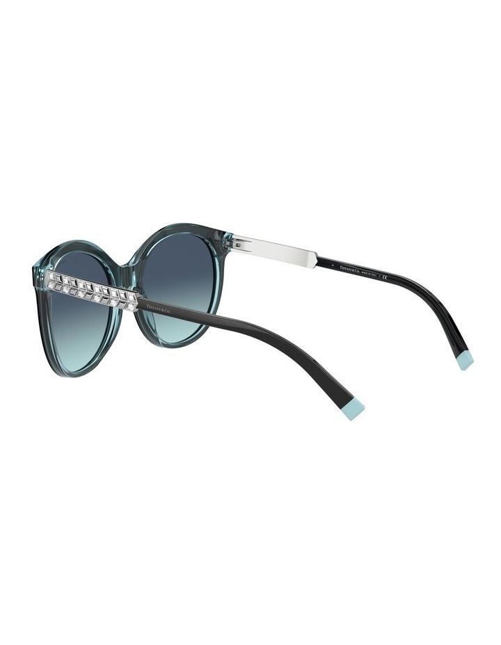 Black/Tiffany Blue Round Sunglasses 0TF4175B 1533991005 image 5