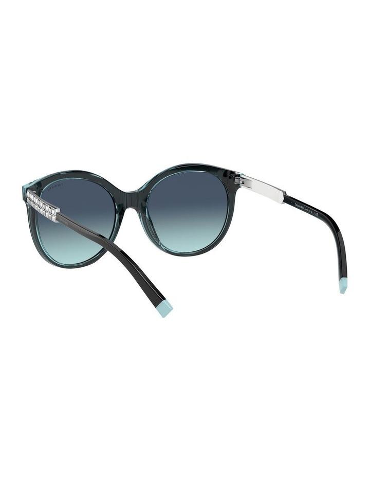 Black/Tiffany Blue Round Sunglasses 0TF4175B 1533991005 image 6