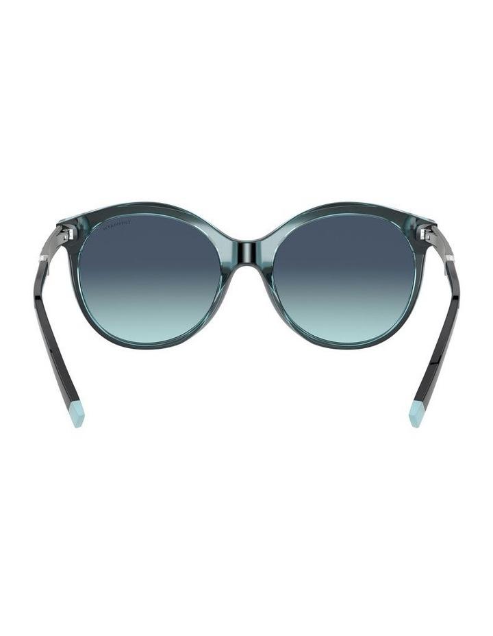 Black/Tiffany Blue Round Sunglasses 0TF4175B 1533991005 image 7