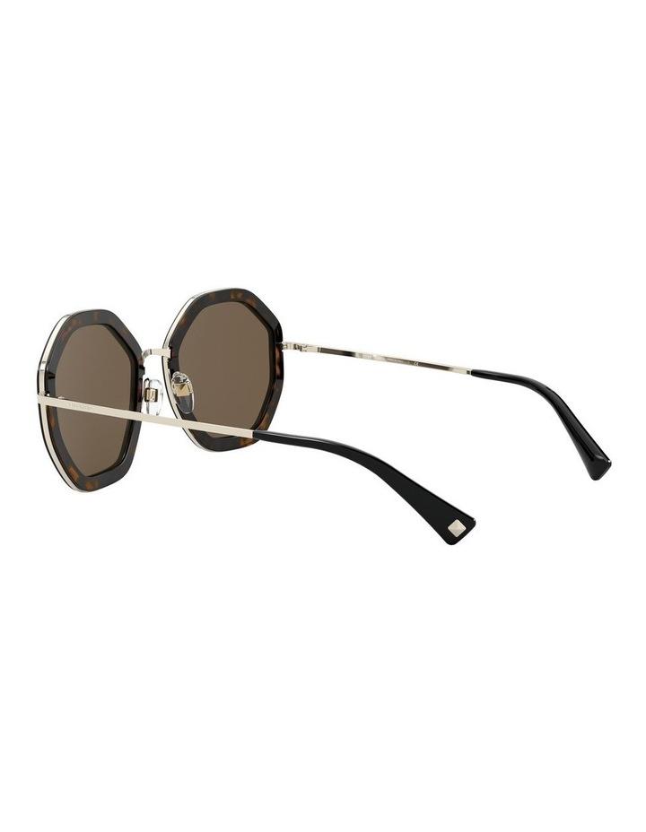 Pale Gold Havana Round Sunglasses 0VA2042 1531677001 image 5