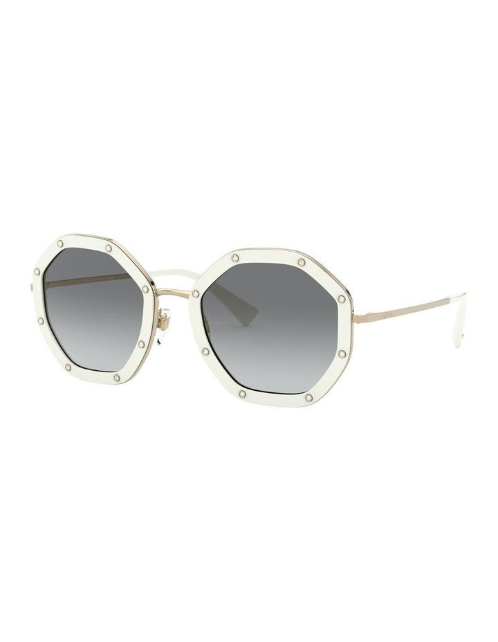 White Gold Round Sunglasses 0VA2042 1531677003 image 1