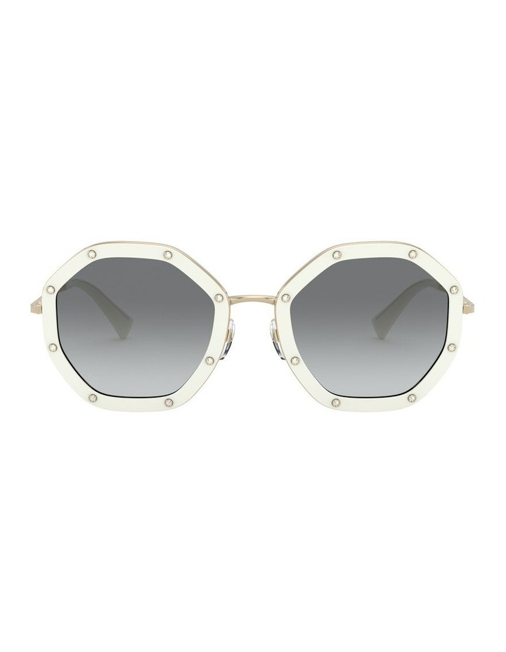 White Gold Round Sunglasses 0VA2042 1531677003 image 2