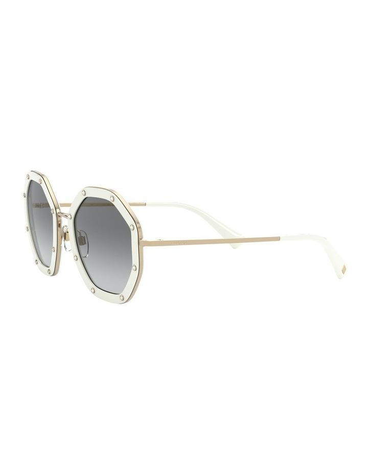 White Gold Round Sunglasses 0VA2042 1531677003 image 3