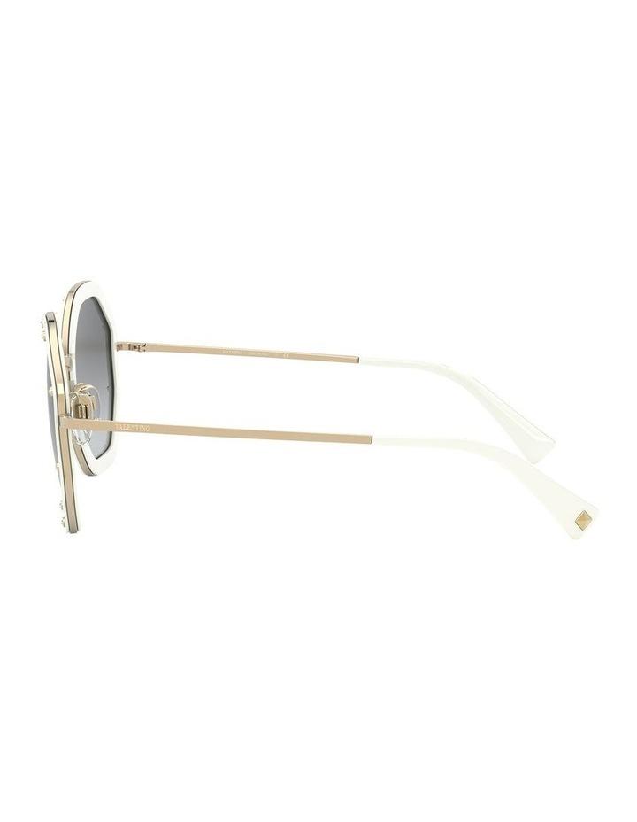 White Gold Round Sunglasses 0VA2042 1531677003 image 4