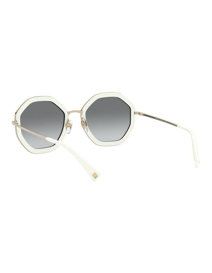 White Gold Round Sunglasses 0VA2042 1531677003 image 6