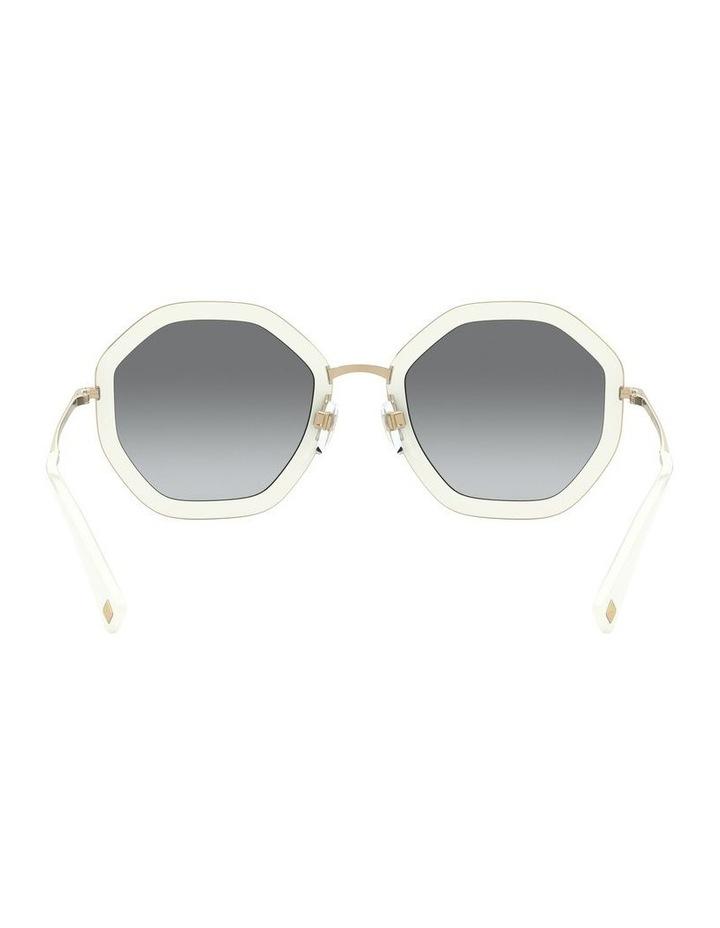 White Gold Round Sunglasses 0VA2042 1531677003 image 7