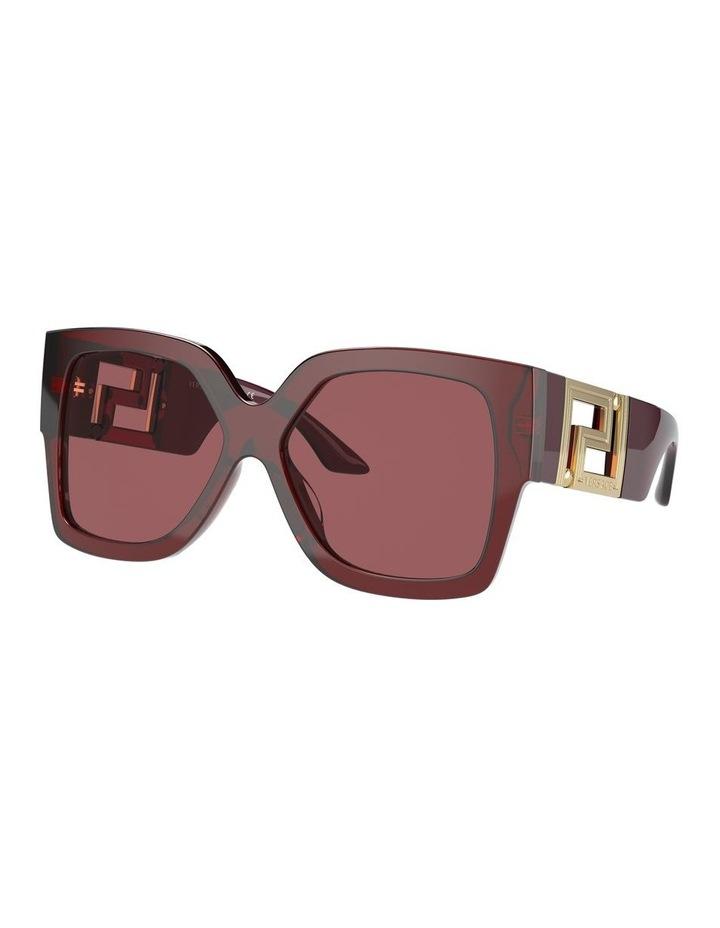 Maroon Square Sunglasses 0VE4402 1534357001 image 1