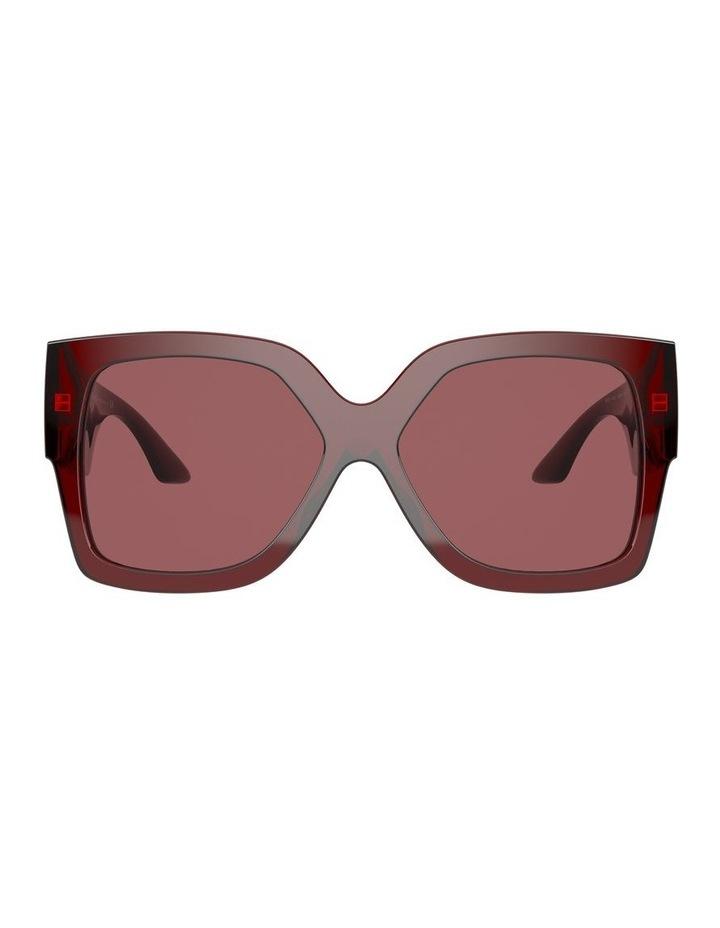 Maroon Square Sunglasses 0VE4402 1534357001 image 2