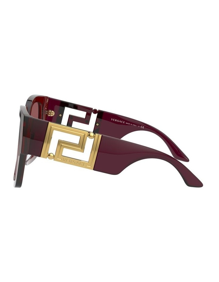 Maroon Square Sunglasses 0VE4402 1534357001 image 4