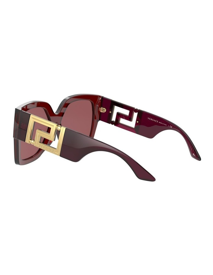 Maroon Square Sunglasses 0VE4402 1534357001 image 5