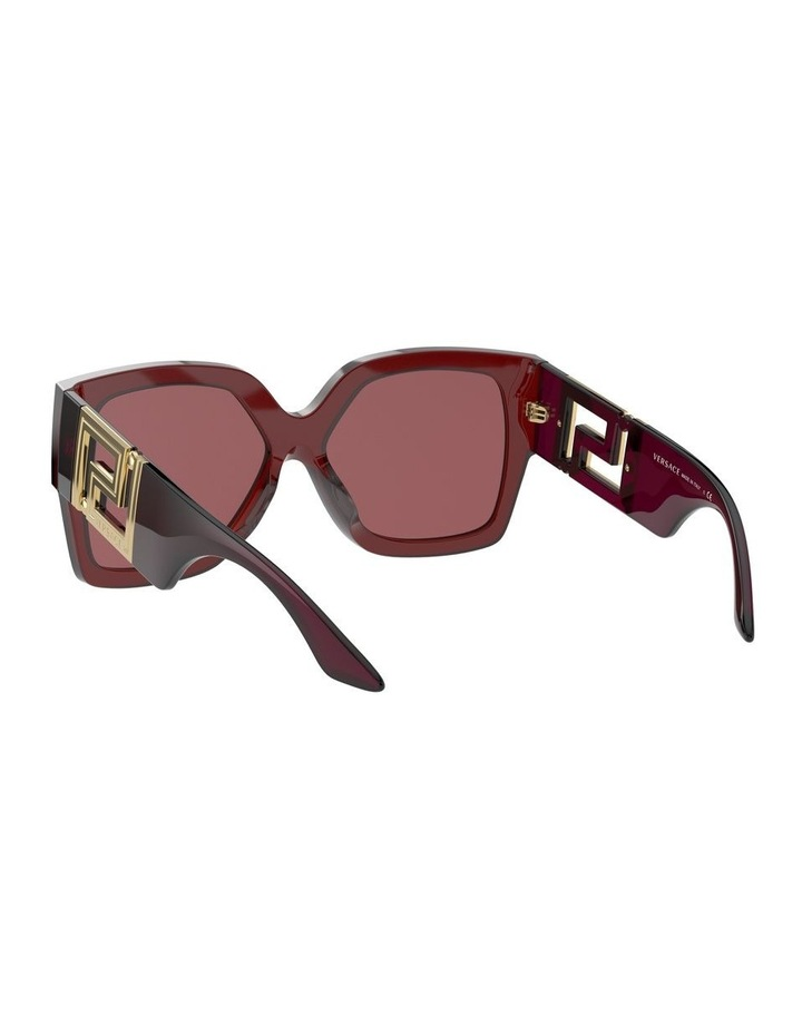 Maroon Square Sunglasses 0VE4402 1534357001 image 6