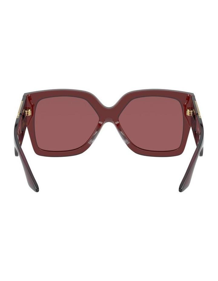 Maroon Square Sunglasses 0VE4402 1534357001 image 7