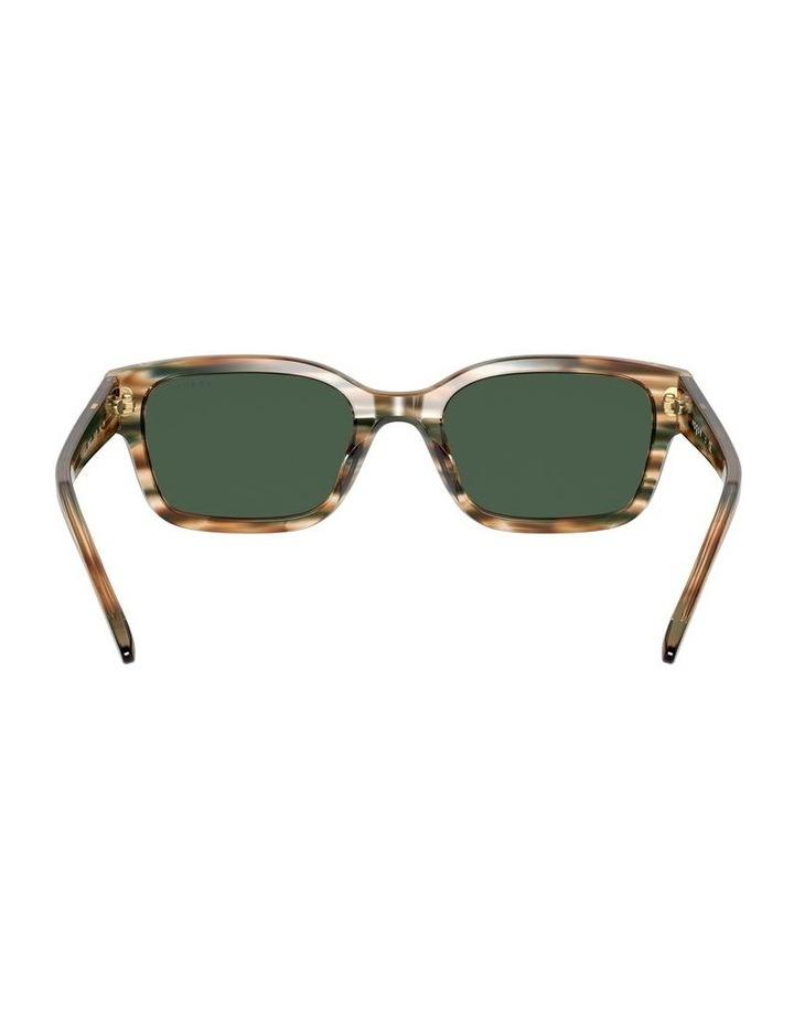 Yellow Check Rectangle Sunglasses 0VO5357S 1533990005 image 7