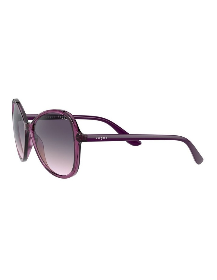 Grape Oversized Round Sunglasses 0VO5349S 1534316001 image 3