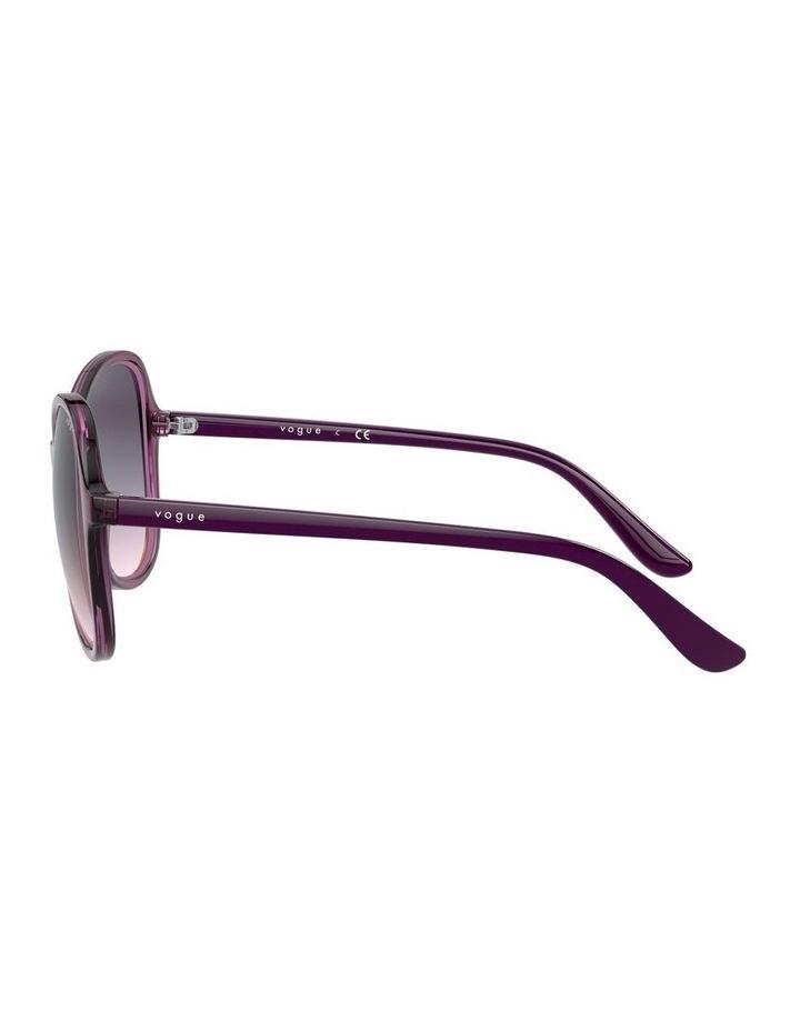 Grape Oversized Round Sunglasses 0VO5349S 1534316001 image 4