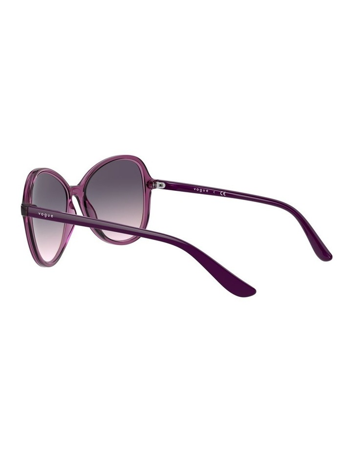 Grape Oversized Round Sunglasses 0VO5349S 1534316001 image 5