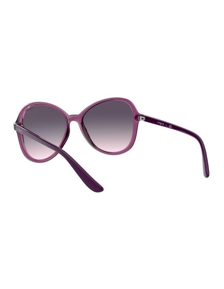 Grape Oversized Round Sunglasses 0VO5349S 1534316001 image 6