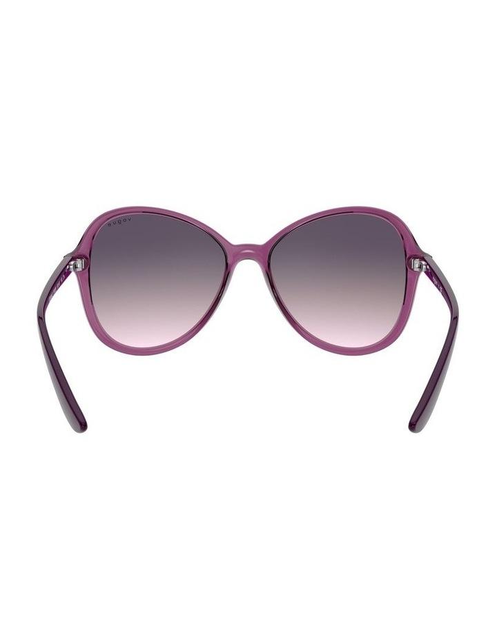 Grape Oversized Round Sunglasses 0VO5349S 1534316001 image 7