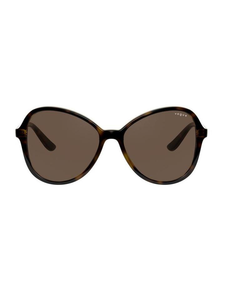 Tortoise Oversized Round Sunglasses 0VO5349S 1534316005 image 2