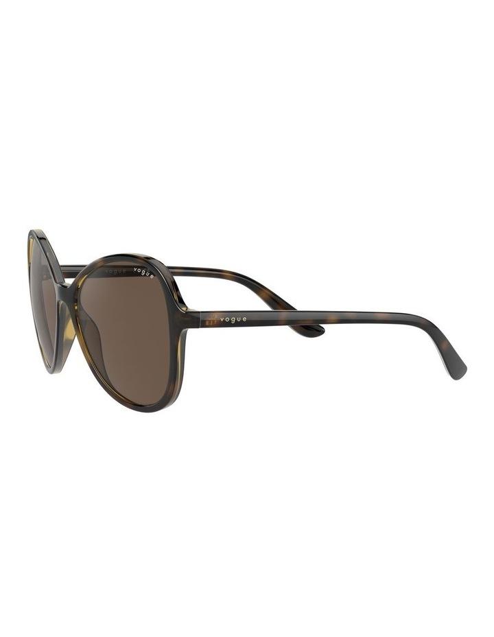 Tortoise Oversized Round Sunglasses 0VO5349S 1534316005 image 3