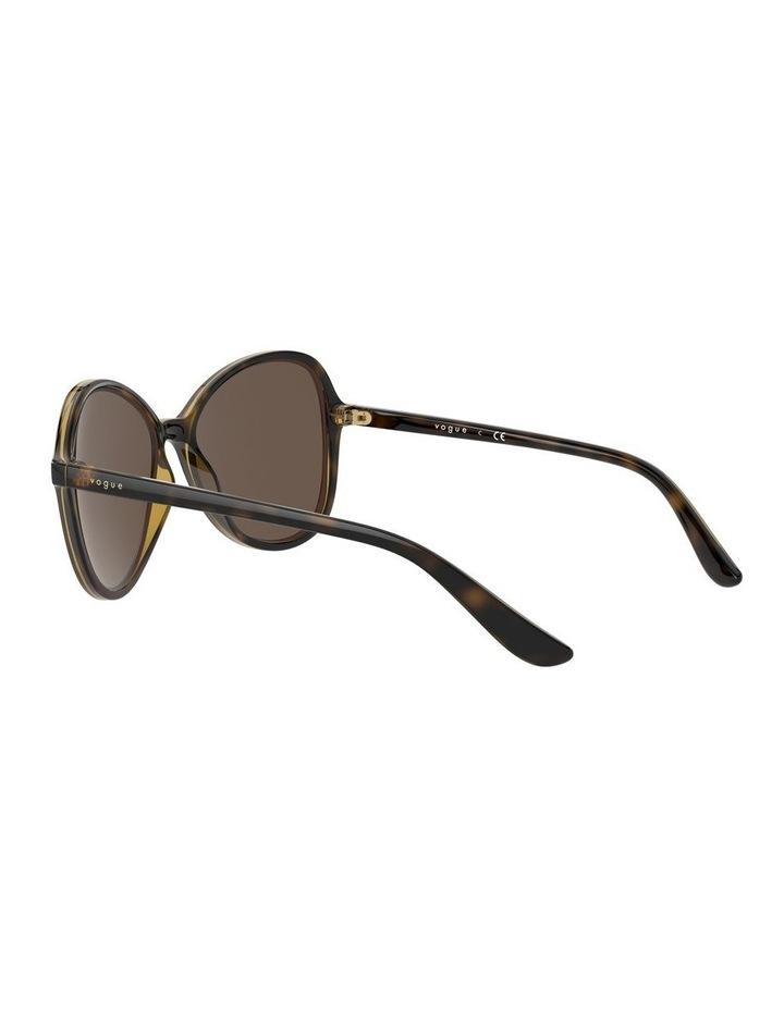 Tortoise Oversized Round Sunglasses 0VO5349S 1534316005 image 5