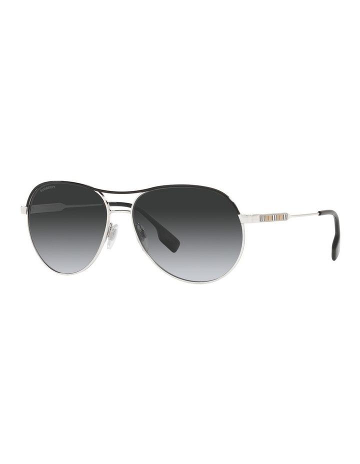 Tara Polarised Gold/Black Aviator Sunglasses 0BE3122 image 1