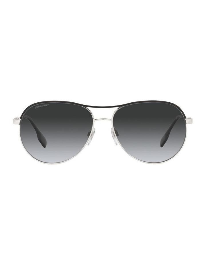 Tara Polarised Gold/Black Aviator Sunglasses 0BE3122 image 2