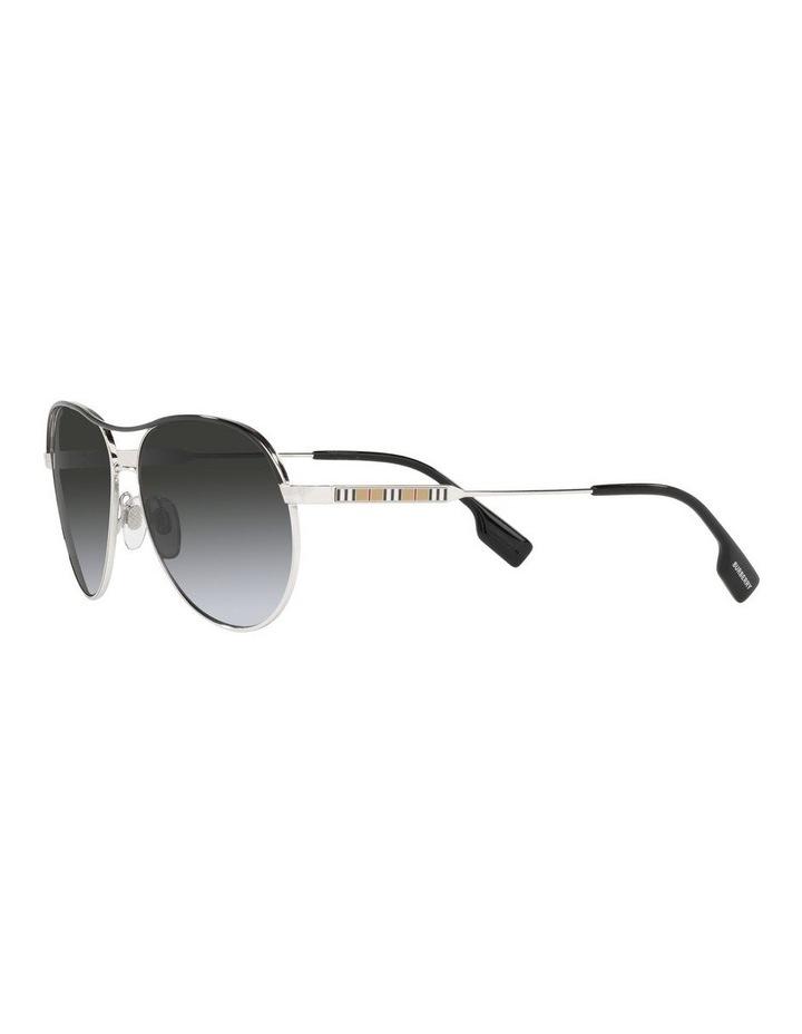 Tara Polarised Gold/Black Aviator Sunglasses 0BE3122 image 3