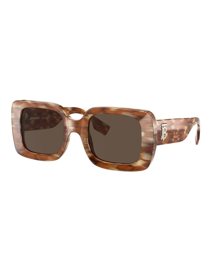 Delilah Brown Square Sunglasses 0BE4327 image 1