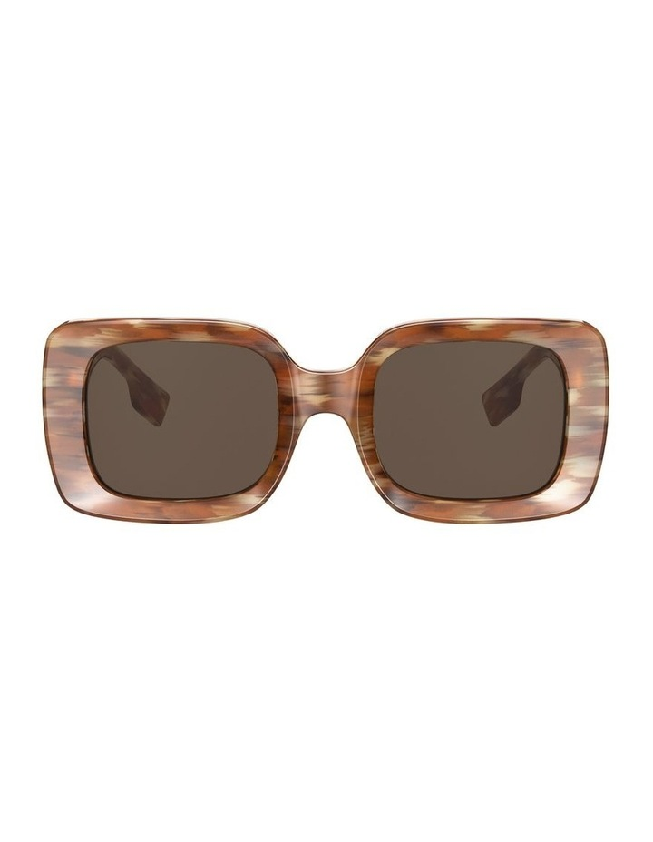 Delilah Brown Square Sunglasses 0BE4327 image 2