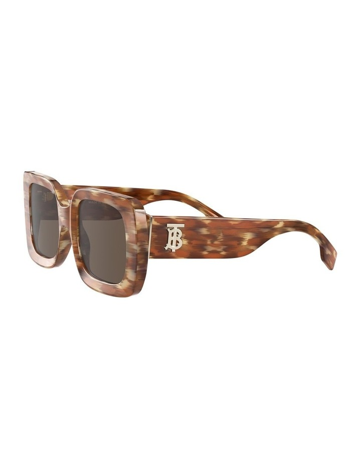 Delilah Brown Square Sunglasses 0BE4327 image 3