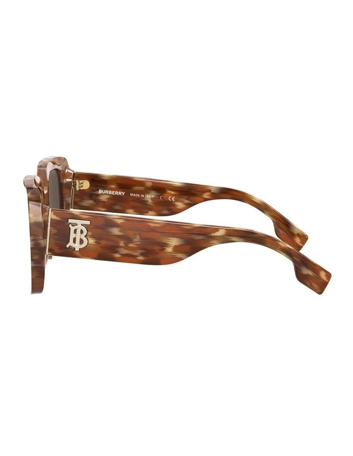 Delilah Brown Square Sunglasses 0BE4327 image 4