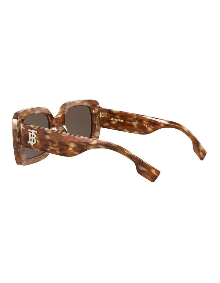 Delilah Brown Square Sunglasses 0BE4327 image 5