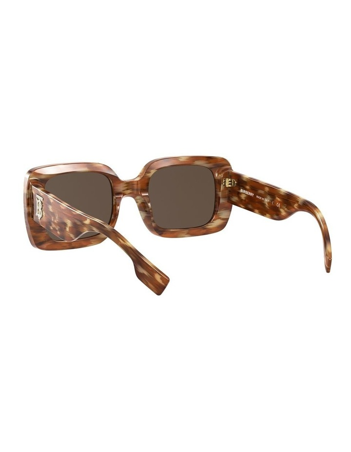 Delilah Brown Square Sunglasses 0BE4327 image 6