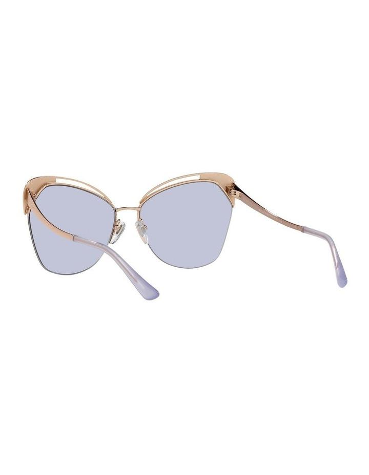 Gold/Lilac Cat Eye Sunglasses 0BV6161 image 6