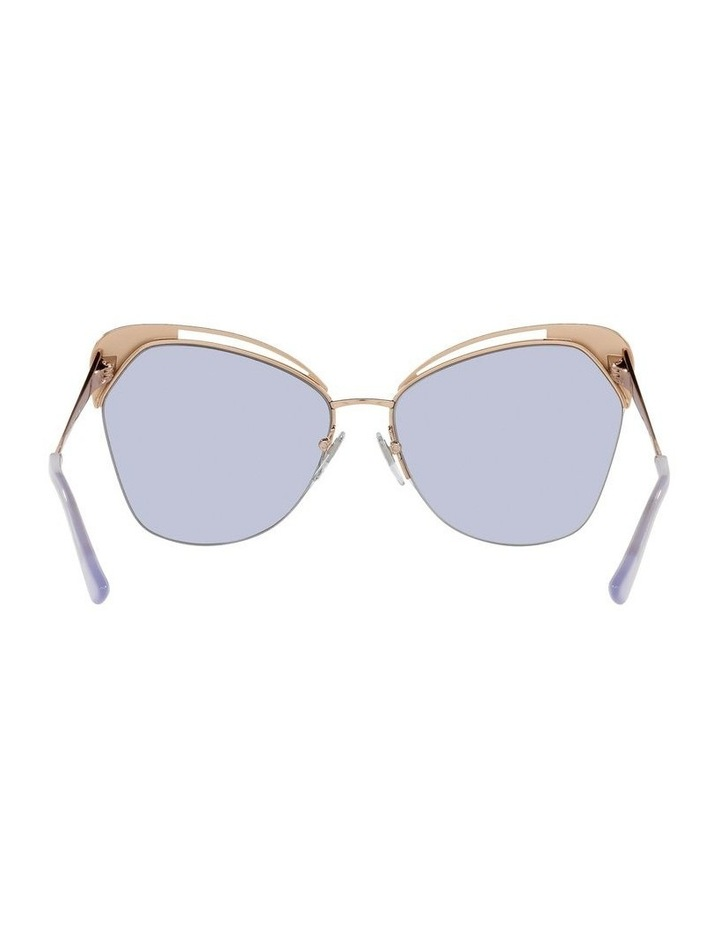 Gold/Lilac Cat Eye Sunglasses 0BV6161 image 7