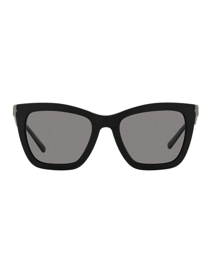 Polarised Black Rectangle Sunglasses 0BV8233 image 2