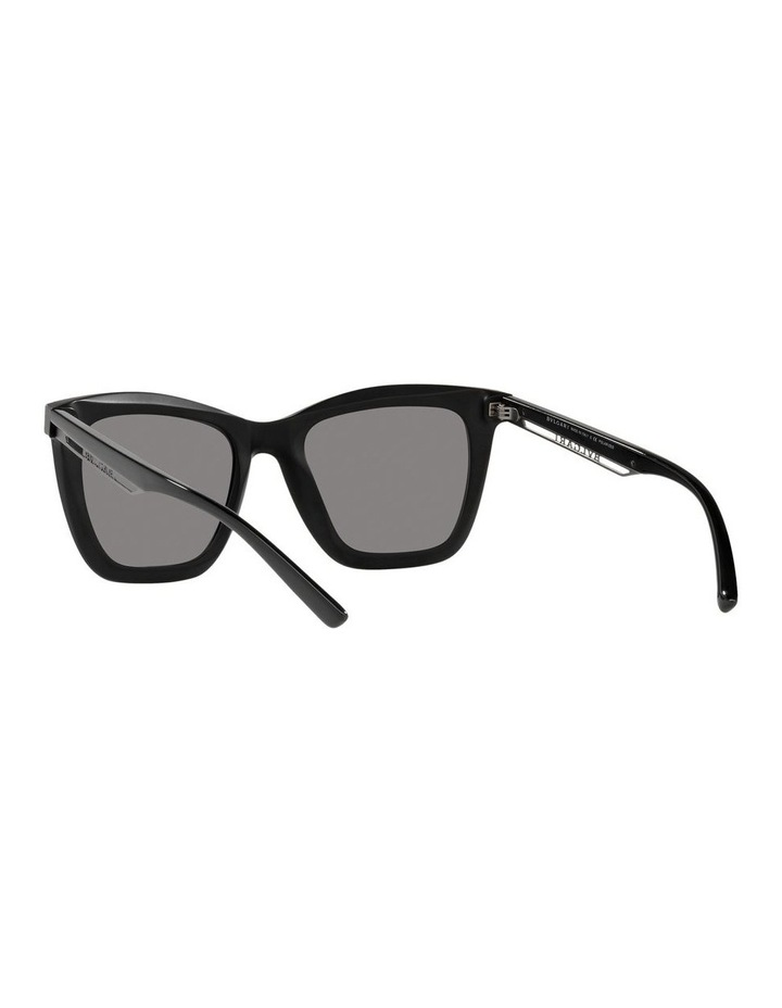 Polarised Black Rectangle Sunglasses 0BV8233 image 6
