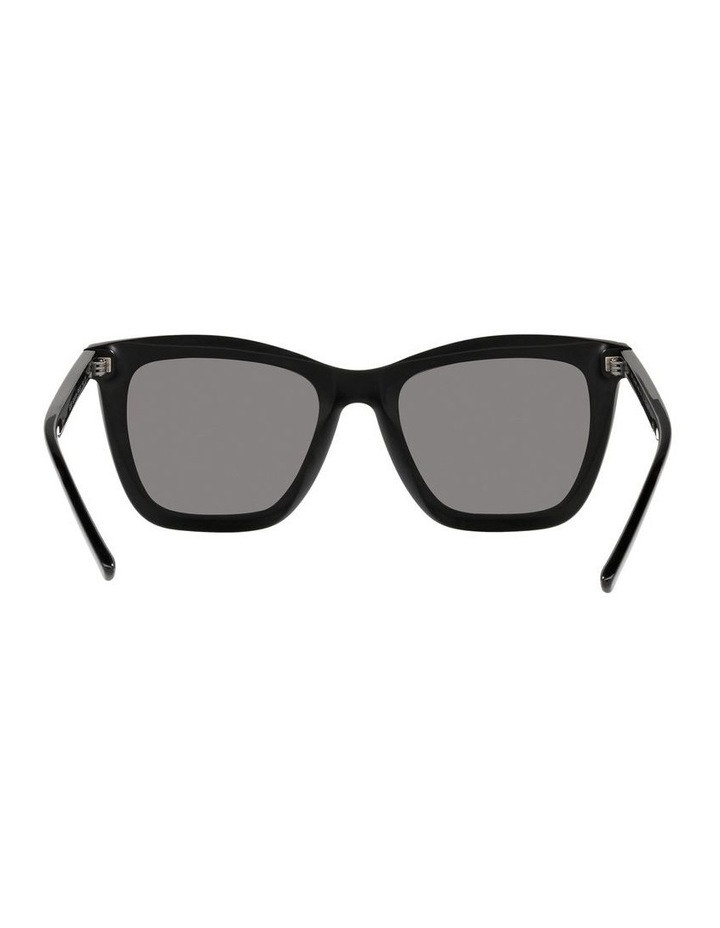 Polarised Black Rectangle Sunglasses 0BV8233 image 7