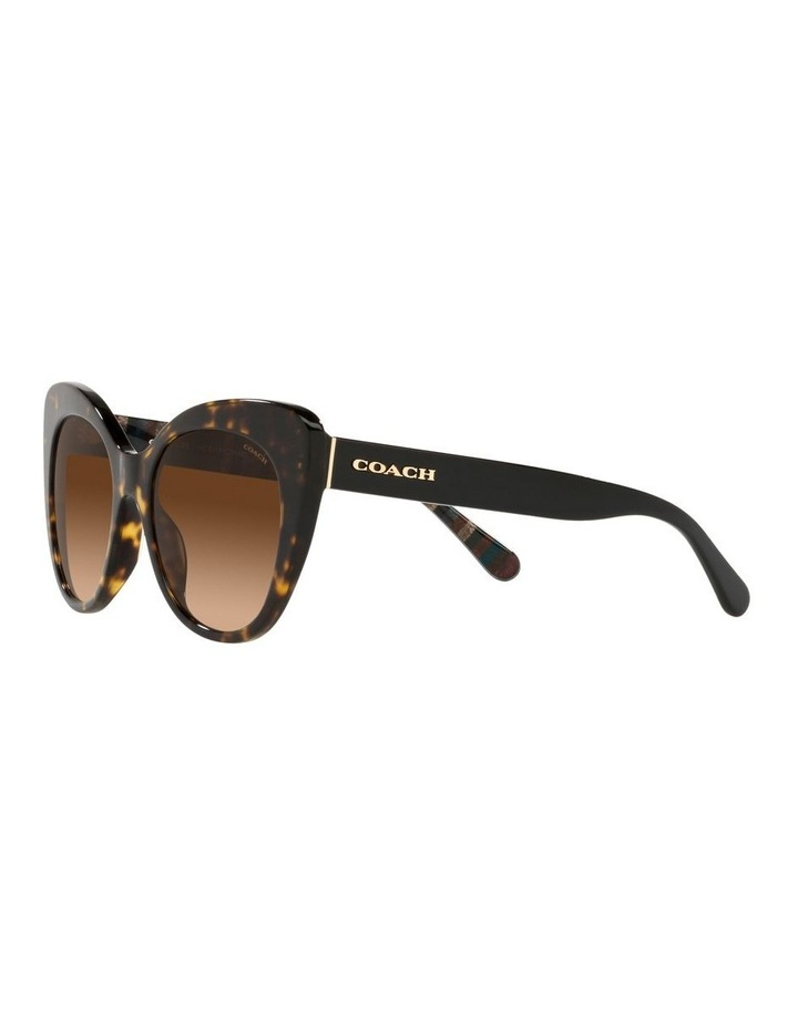 Tortoise Cat Eye Sunglasses 0HC8317 C3448 image 3