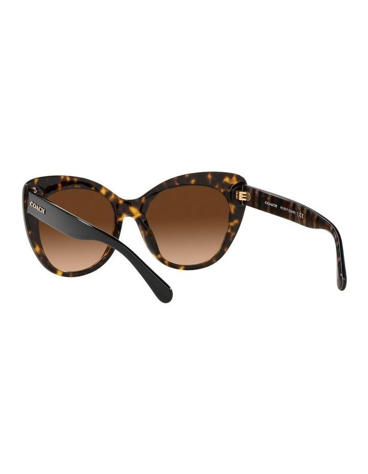 Tortoise Cat Eye Sunglasses 0HC8317 C3448 image 6