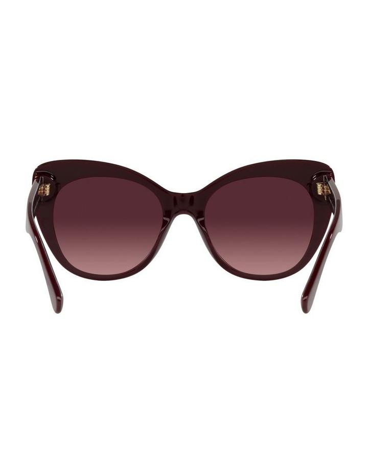 Red Burgundy Cat Eye Sunglasses 0HC8317 C3448 image 7