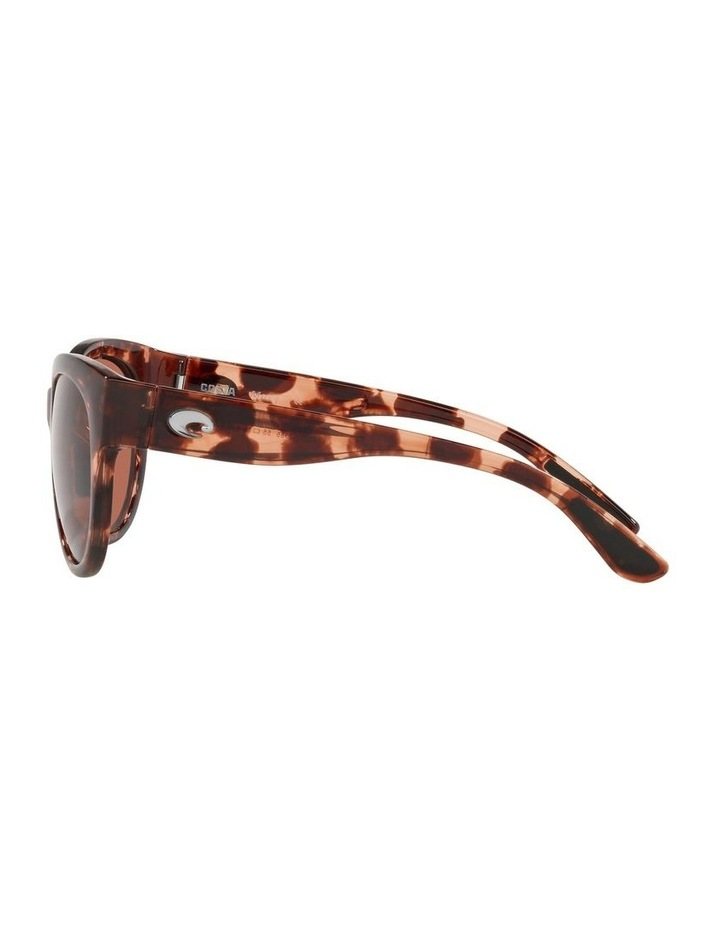 Polarised Tortoise Round Sunglasses Maya 06S9011 image 4
