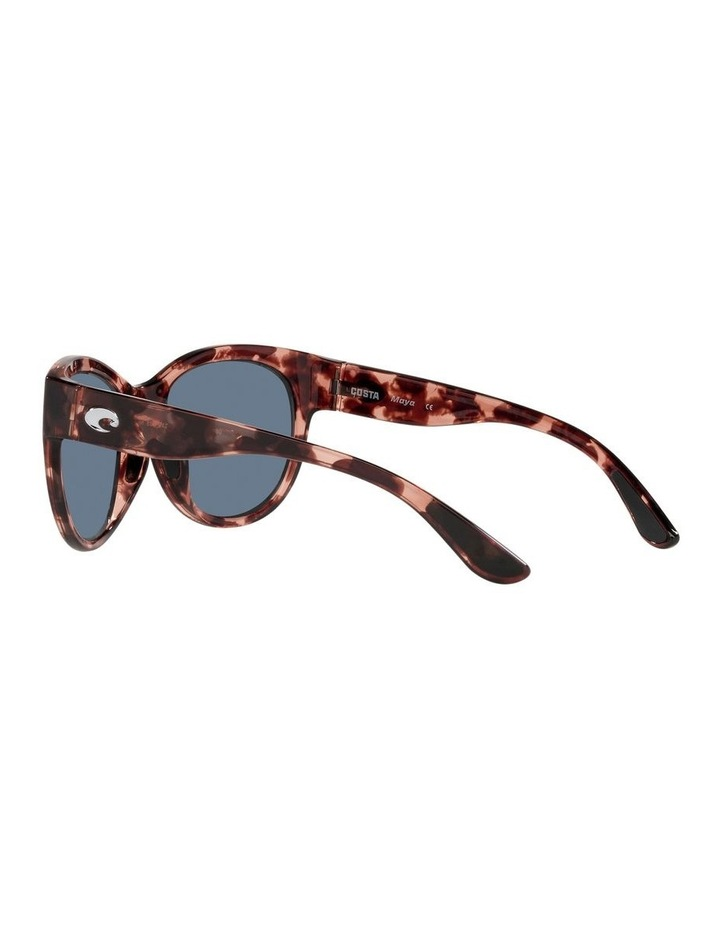 Polarised Tortoise Round Sunglasses Maya 06S9011 image 5