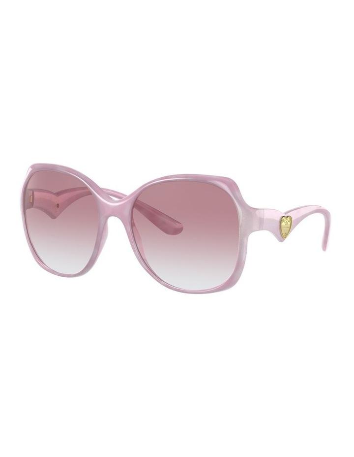 Pink Oversized Sunglasses 0DG6154 image 1