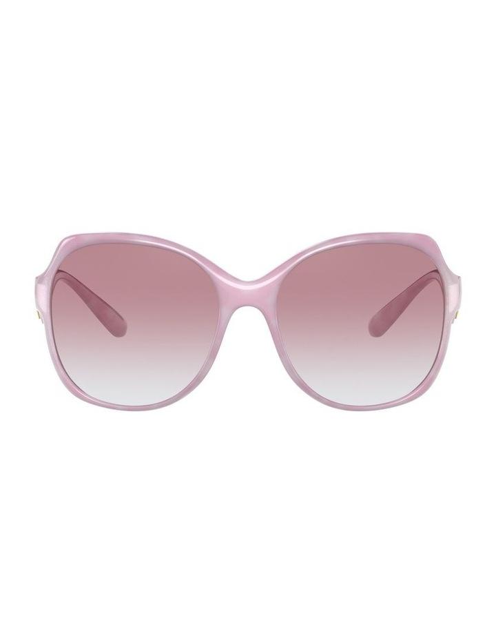 Pink Oversized Sunglasses 0DG6154 image 2