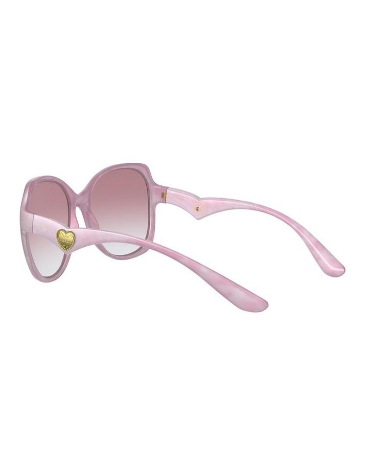 Pink Oversized Sunglasses 0DG6154 image 5